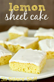 lemon sheet cake recipe from scratch food for health recipes