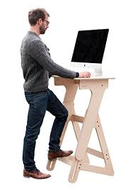 Standing Desk Laptop Adjustable Height Stand Up Desk Wood Standing Desk