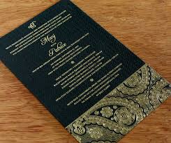 Indian Wedding Card Matter Pdf Letterpress Wedding Invitation Blog Letter Impressed By Ajalon