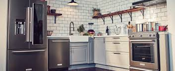 be bold with black stainless steel appliances kitchenaid