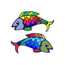 rainbow fish clipart clipground