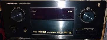 7 1 home theater marantz sr7001 7 1 channel a v home theater receiver used marantz