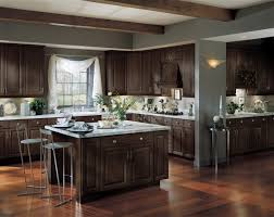 what color wood floors go with espresso cabinets langdon slab echelon cabinets