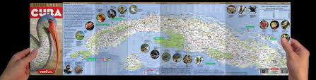 Map Cuba Naturesmart Cuba Map By Vandam Country Road U0026 Eco Travel Map Of