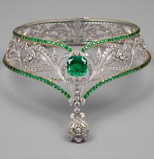 gold diamond emerald necklace images A necklace design viktor nikolayev jewelers viktor nikolayev jpg