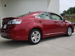 lexus hs hybrid used 2010 lexus hs 250h 4dr sdn hybrid for sale little rock ar