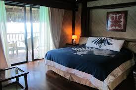 chambre sur pilotis intérieur chambre sur pilotis photo de maitai polynesia bora bora