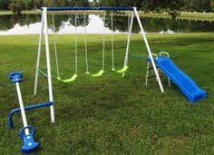 Metal Backyard Playsets by Detalles Acerca De Swing Sets For Backyard Play Time Metal