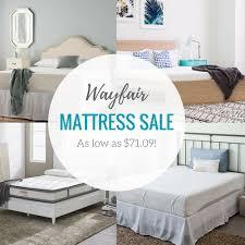 wayfair mattress wayfair mattress sale as low as 71 09 lots of great options