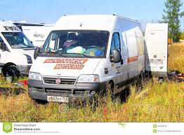 motocross race van fiat ducato editorial stock image image 45229319