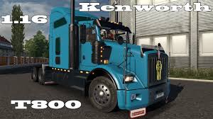 kenworth trucks photos euro truck simulator 2 kenworth t800 v 1 16 youtube