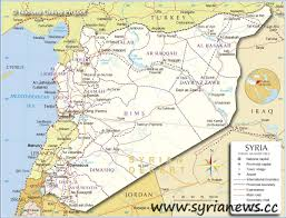 Syria War Map by Bankimoon Warns Consequences War Syria Syria News