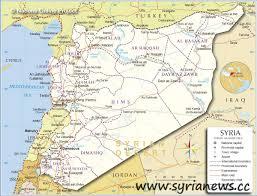 Syria War Map by Bankimoon Warns Consequences War Syria Syria News