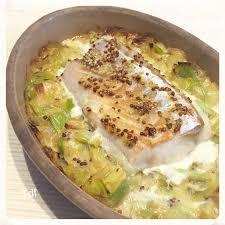 cuisiner du dos de cabillaud dos de cabillaud sur lit de poireaux moutarde à l ancienne mado