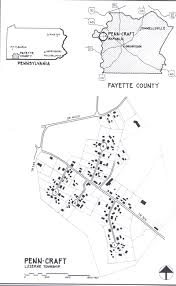 Iup Map Norvelt And Penn Craft Pennsylvania Subsistence Homestead
