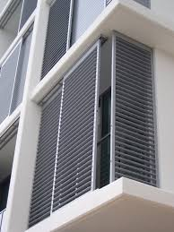 aluminium window shutters exterior interiors design