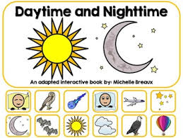 daytime u0026 nighttime adapted interactive book autism early