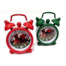 themed clock themed miniature alarm clock themed clock