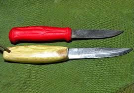 mungo says bah bushcraft blog blueing my mora knife applying