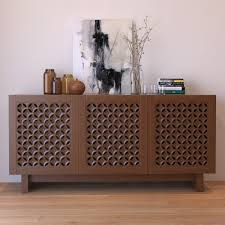 West Elm Console Table by Wood Media Console 3d Max