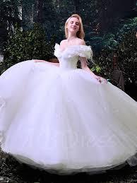 princesses wedding dresses gown the shoulder cinderella wedding dress tbdress com