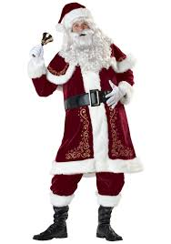 santa costumes classic st nick santa costume santa claus costumes