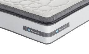 sealy lexington zoned memory pillow top mattress double amazon