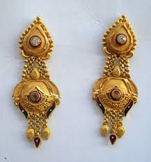 earrings gold design traditional design 20k gold earrings ear handmade jewelry