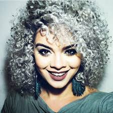 black women short grey hair short curly hair grey hair hairs picture gallery