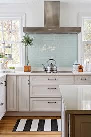 blue kitchen backsplash glass kitchen backsplash white cabinets white glass kitchen