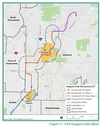 Metro Rail Map by Map Of Buffalo U0027s Metrorail Expansion Construction Starts 2024