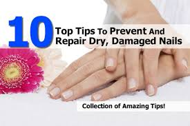 10 top tips to prevent and repair dry damaged nails