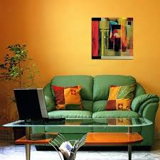 green canvas flower decorative oil paintings wall art living room