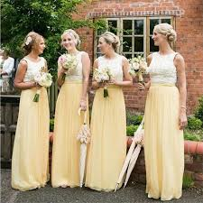 simple wedding dresses for brides yellow bridesmaid dress to celebrate weddings mybestfashions