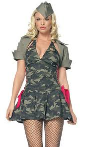 Halloween Army Costumes Womens Army Cadet Costume Military Army Costumes