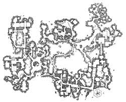 its a large dungeon rpg maps pinterest rpg