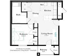 Handicap Accessible Bathroom Designs by Remington Apartments Floor Plans