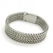 charm snake bracelet images Promotion sale wholesale 16mm mens silver charm snake bracelet jpg