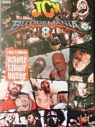 jcw u0027s bloodymania 8 dvd dignified