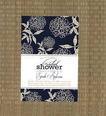 printable bridal shower invitation navy blue by ethreedesignstudio