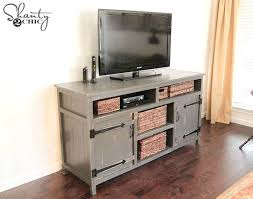 X Console Table Diy Rustic X Console Table Plans With Drawers Media Center From