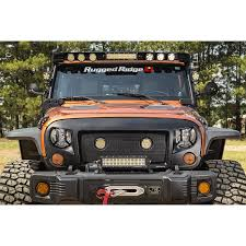 Rugged Ridge Tire Carrier Rugged Ridge 11230 12 Elite Headlight Euro Guards Txt Blk 07