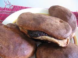 cuisine russe pirojki des presque pirojkis au chocolat à la confiture et au fromage