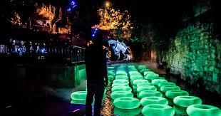 waller creek light show creek show 2016 in austin at waller creek downtown