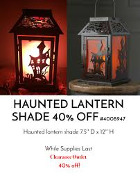 pink zebra halloween haunted lantern shade pink zebra products