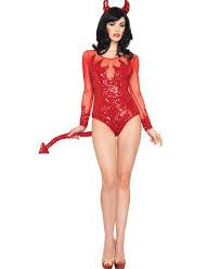rockin u0027 red devil costume leg avenue 83893