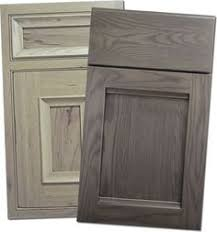Stain Oak Kitchen Cabinets Gray Stained Washed Hickory Cabinets House Pinterest