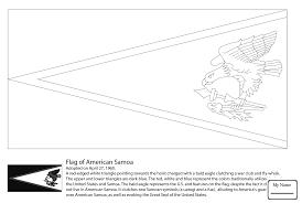 American Samoan Flag Oceania And Polynesia Flags Xyzcolor4kids Com