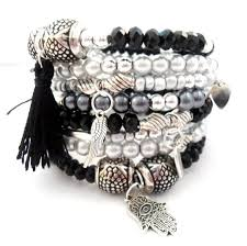 black bead charm bracelet images 77 best amorporteno jewelry handmade images charm jpg