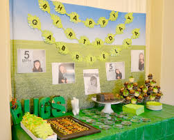 bday party decorations at home interior design amazing soccer themed birthday party decorations
